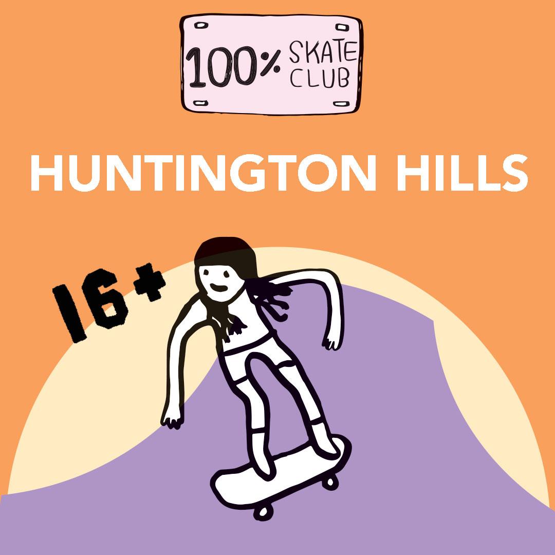 huntington skatepark artwork